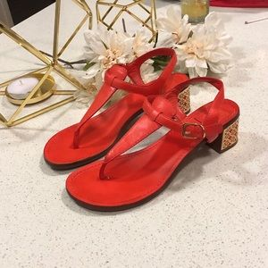 Tory Burch heeled sandal size 8